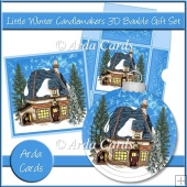 Little Winter Candlemakers 3D Bauble Gift Set