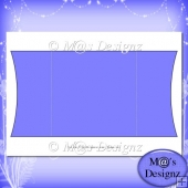 Square Gatefold Template 5