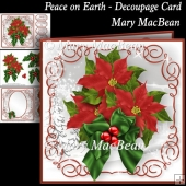 Peace on Earth - Decoupage Card