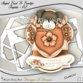 Shaped Easel & Envelope Template - 02