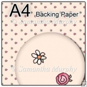 ref1_bp205 - Cream Daisy's & Roses