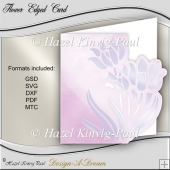 Flower Edged Card
