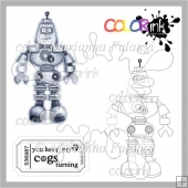 Dad Robot and Sentiment Digital Stamp