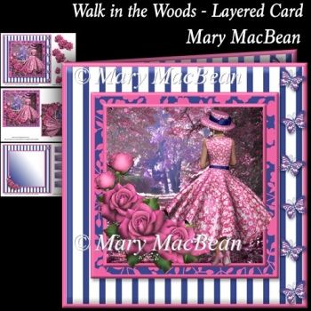 Walk in the Woods - Layered Card