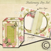 Stationary Box Set Beauty Green