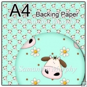 ref1_bp122 - Turquoise Cow Daisy