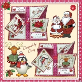 Enjoy The Season - Quadruple Easel Card