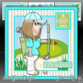 Keep Calm & Play Golf Mini Kit