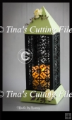3D Lantern - Lamp - Luminaire - Filigree Ironwork