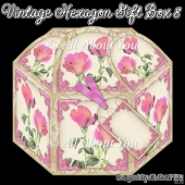 Vintage Hexagon Gift Box 8