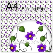 ref1_bp145 - White & Purple Flowers