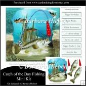 Catch of the Day Fishing Mini Kit