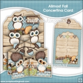 Allmost Fall Concertina Card & Envelope