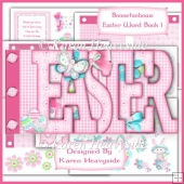 Bonnetnbows Easter Word Book 1