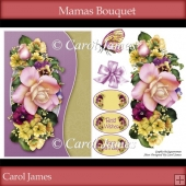Card Front - Mamas Bouqet