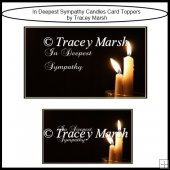 In Deepest Sympathy Card Toppers