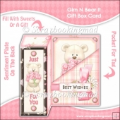 Grin N Bear It Gift Box Card