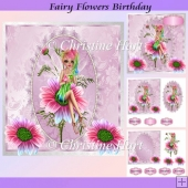 Fairy Flowers Birthday Mini Kit