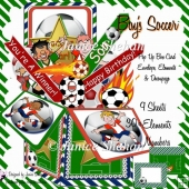 SOCCER 3D POP UP BOX CARD KIT