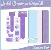 Joyful Christmas Waterfall