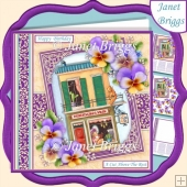 HAIRDRESSER SHOP 7.5 Decoupage & Insert Kit