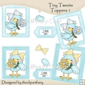 Tiny Tweets Toppers 1(Retiring in July)