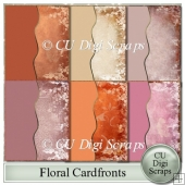 Floral Cardfronts/backgrounds