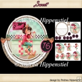 Rocker Card Sweet 16