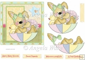 Teddy bear shower 6x6