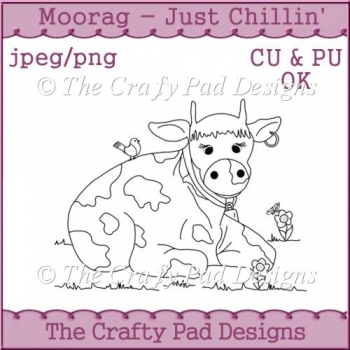 MooRag Cow - Just Chillin'