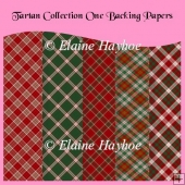 Tartan Collection One Backing Papers