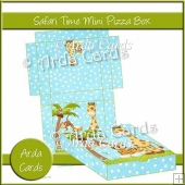 Safari Time Mini Pizza Box