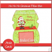 Ho Ho Ho Christmas Pillow Box
