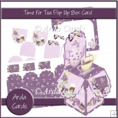 Time For Tea Pop Up Box Card