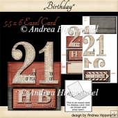 Birthday Easel Card 21