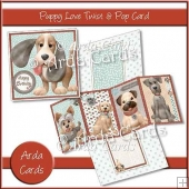 Puppy Love Twist & Pop Card