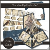 Twit Whoo Pop Up Box Card