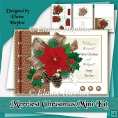 Merriest Christmas Card Mini Kit