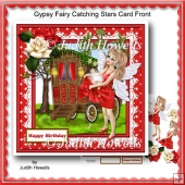 Gypsy Fairy Catching Stars Card Front