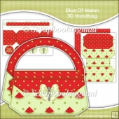Slice Of Melon 3D Handbag