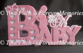 Baby Girl TF0107, SVG, MTC, SCAL, CRICUT, CAMEO, ScanNCut