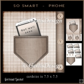 Smartphone Male Card Topper 914