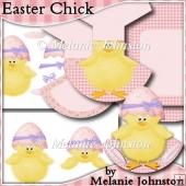 Easter Chick - Rocker Card