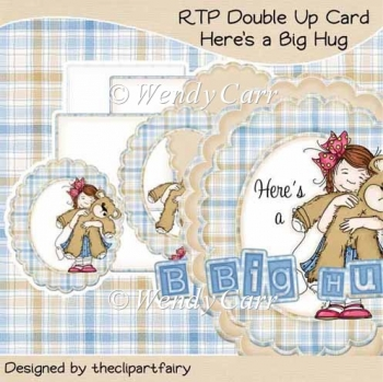RTP Double Up Card - Here's A Big Hug(Retiring in August)