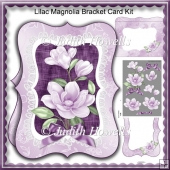 Lilac Magnolia Bracket Card Kit