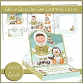 Eskimo Escapades Easel Card With Drawer