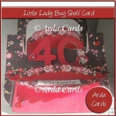 Little Lady Bug Shelf Card