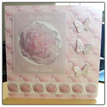Pretty in Pink Decoupage & Pyramage
