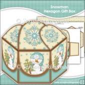 Snowman Hexagon Gift Box