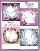 Cottage Chic Doily Card Fronts Set